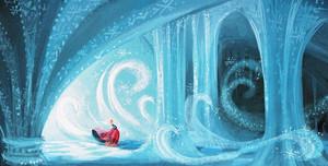 Visual Development from Холодное сердце by Claire Keane
