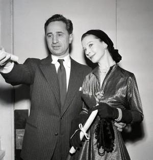 Vivien Leigh & Elia Kazan