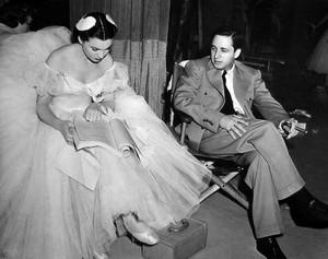 Vivien Leigh & director Mervyn LeRoy