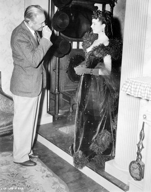 Vivien Leigh & director Victor Fleming