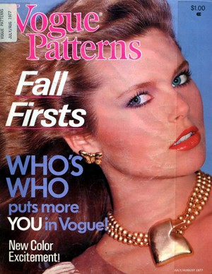 Vogue Patterns, July/August 1977
