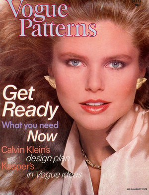 Vogue Patterns, July/August 1978
