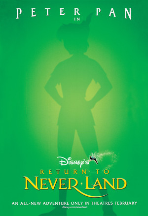 Walt disney Posters - Peter Pan 2: Return to Never Land