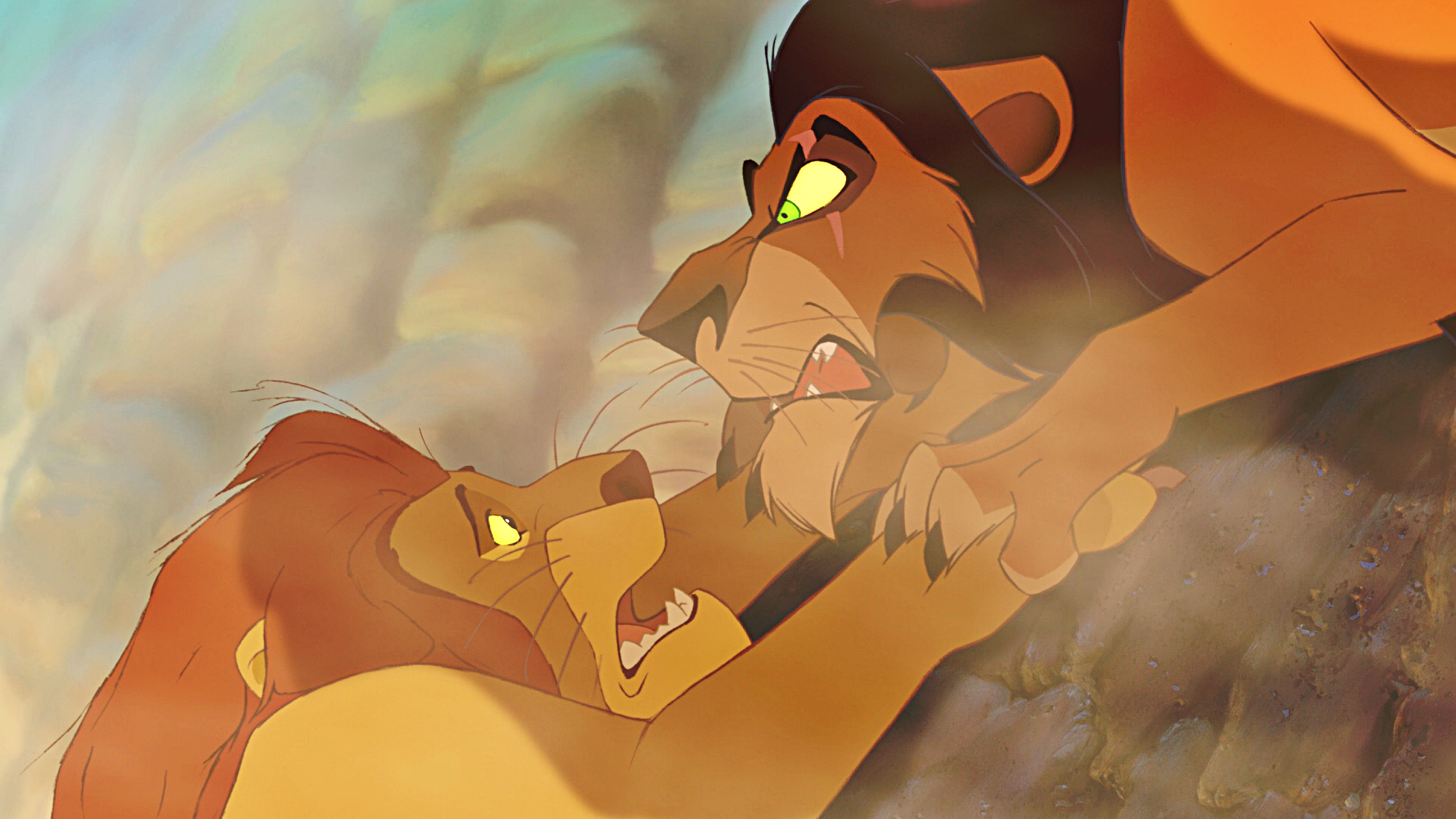 The lion king mufasa and scar - photo#9