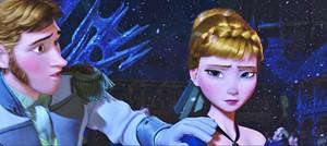 Walt डिज़्नी Screencaps - Prince Hans Westerguard & Princess Anna