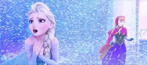 Walt ডিজনি Screencaps - কুইন Elsa & Princess Anna