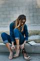 What Katie Wore: Better In Denim