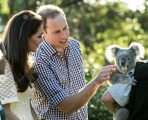 William & Catherine Australia - Taronga Zoo