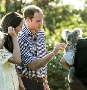 William & Catherine Australia - Taronga Zoo