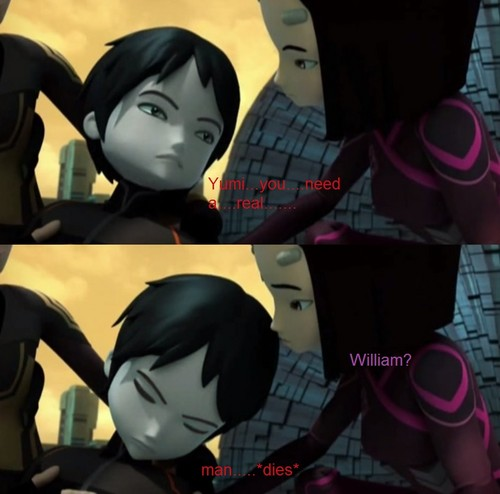 Code Lyoko kertas dinding possibly containing Anime entitled William Dunbar Memes