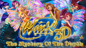 Winx Club 3rd Movie English Poster