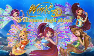 Winx Club 3rd Movie Italian Poster