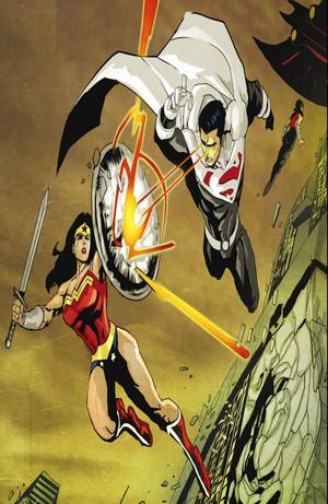 Wonder Woman vs Justice Lord Супермен