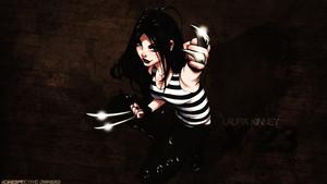 X-23 / Laura Kinney kertas dinding