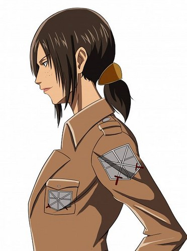 Shingeki no Kyojin (Attack on titan) wallpaper possibly containing anime entitled Ymir Sideview