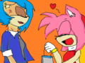 You Look Like SONIC naw hehe! - sonic-fan-characters fan art