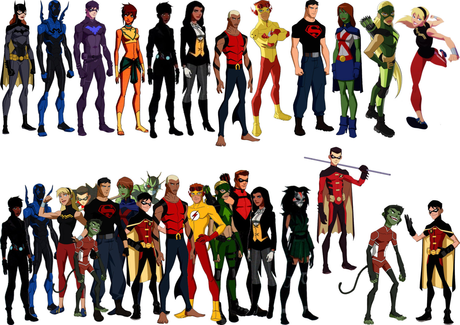 Young justice2 - Young Justice Photo (36986042) - Fanpop