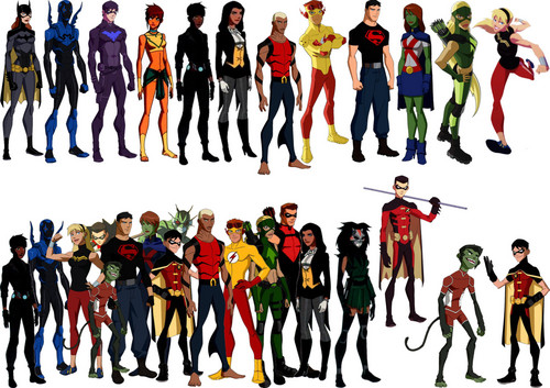 in young justice wallpaper entitled Young justice2