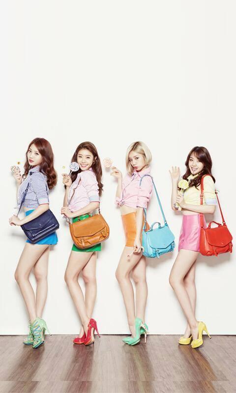 YuRa,Sojin,Hyeri and Minah