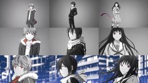 Yukine, Yato and Hiyori
