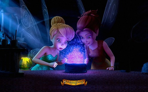 Disney Elfen Filme Hintergrund containing a sign titled Zarina the Pirate Fairy