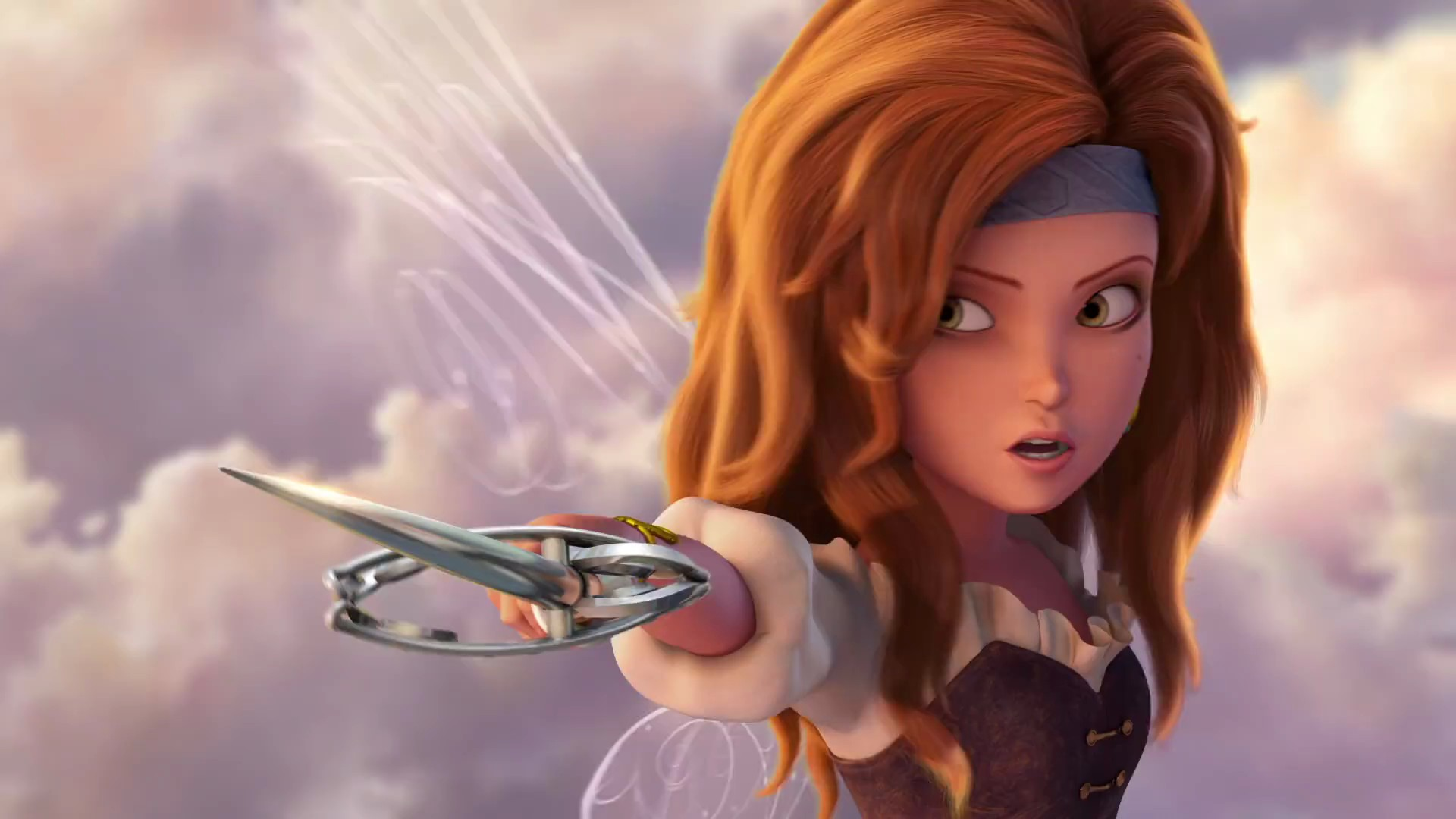 Tinker bell and the pirate fairy zarina