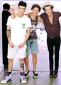 Zayn, Louis and Harry - louis-tomlinson photo