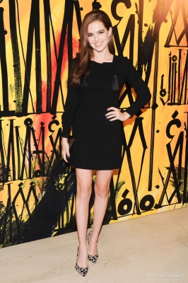 Zoey Deutch at Jimmy Choo's Launch Event