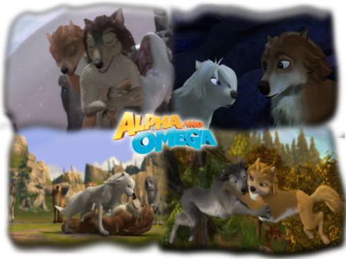 Alpha and Omega 2: a howl-iday adventure karatasi la kupamba ukuta entitled a