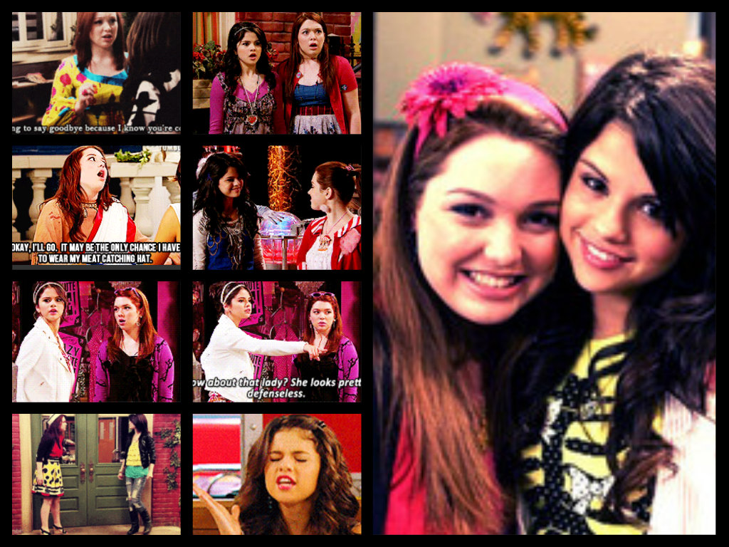 wizards of waverly place images alex and harper hd wallpaper and