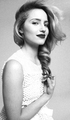black and white - dianna-agron photo