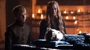 cersei with joffrey and tommen