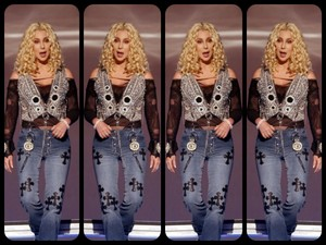 cher collage
