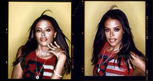 Aaliyah photographed by Hamish Brown *RARE*