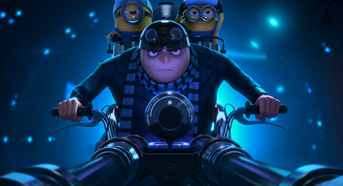 despicable me 2 club wallpaper called here he comes....