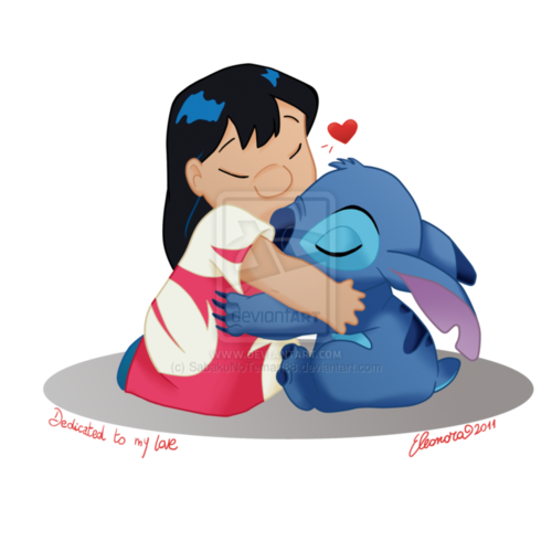 Lilo & Stitch kertas dinding called lilo and stitch