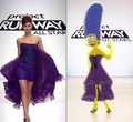 marge simpson project runway