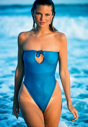Christie Brinkley wallpaper containing a maillot entitled miscellaneous swimsuit pics