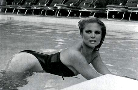 Christie Brinkley wallpaper probably with a water, a maillot, and a bather called miscellaneous swimsuit pics
