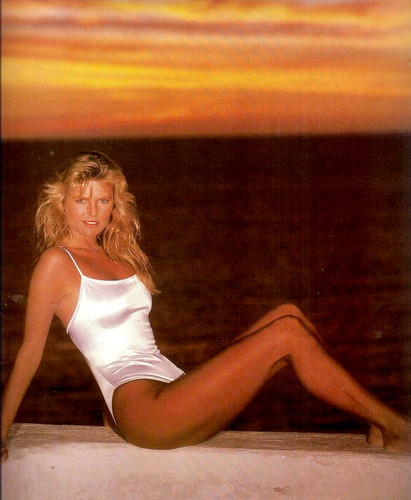 Christie Brinkley wallpaper probably with a leotard, a maillot, and a swimsuit called miscellaneous swimsuit pics