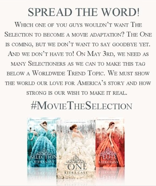 Selection Series Series Movie The Selection