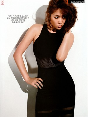Soyou on Arena Homme Plus