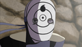 obito with sharingan and rinnengan - anime photo