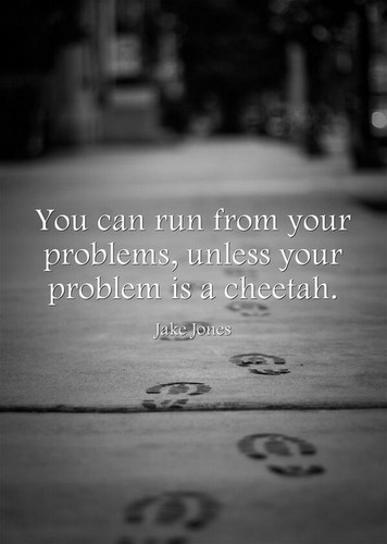 Quotes wallpaper titled problem