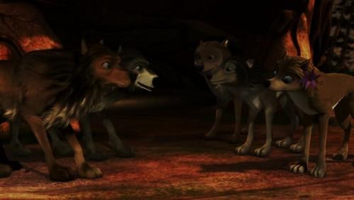 Alpha and Omega 2: a howl-iday adventure Hintergrund called Zufällig fanart