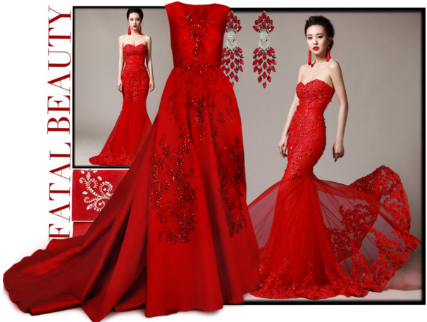 Wedding trends images red cheap wedding dresses nz from for Cheap red wedding dresses