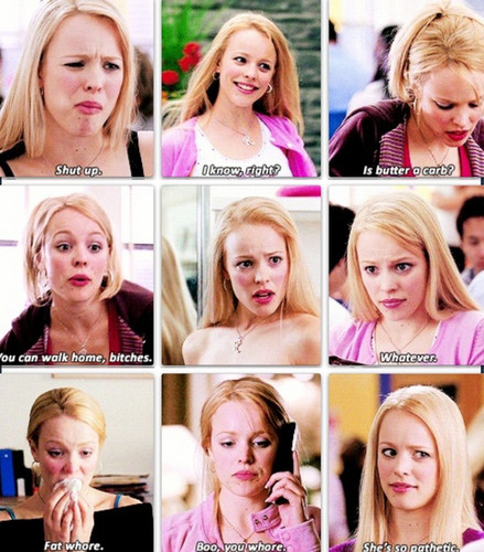 Mean Girls wallpaper containing a portrait titled regina-george