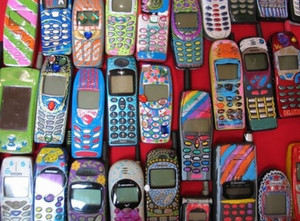 retro cell phones