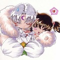 sesshomaru and rin - anime fan art