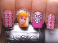 sleeping beauty nails - princess-aurora photo